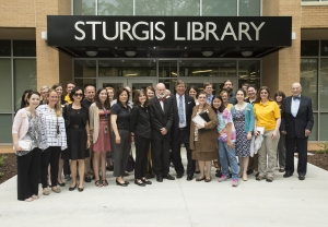 Sturgis Library staff and supporters celebrate renovation