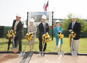 Bagwell College of Education building addition groundbreaking