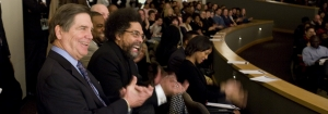 Dr. Papp and Kennesaw State students host scholar, author and activist Dr. Cornel West.