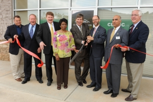 Ribbon-cutting ceremony for KSU Community Health Clinic at MUST Ministries