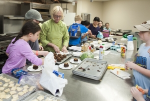 Youngsters participate in cooking camp through KSU's Summer University