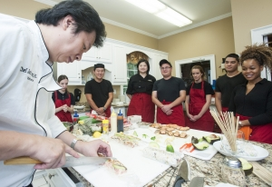 Kennesaw State culinary students learn about Japanese cuisine