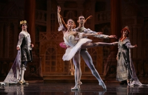 "Atlanta Ballet's Prima Ballerina Christine Winkler in ""Sleeping Beauty."""