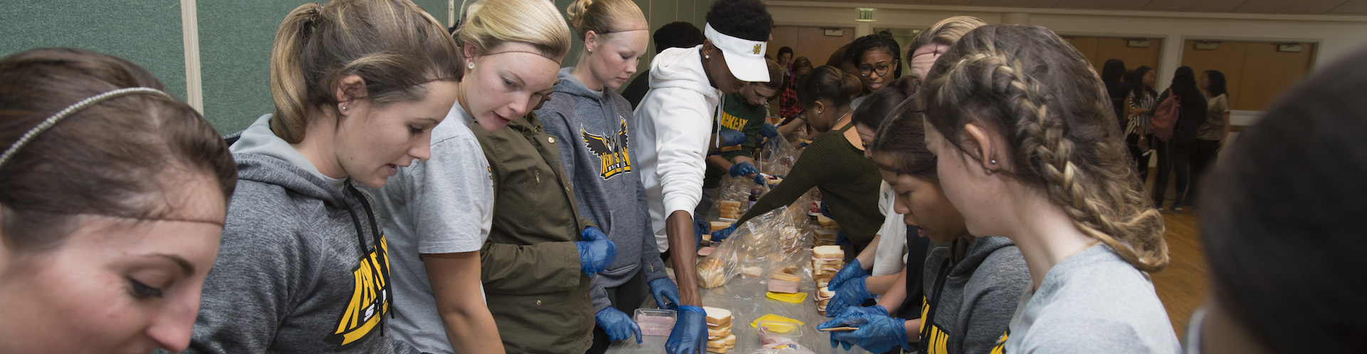 Kennesaw State students participate in Homelessness Awareness Week