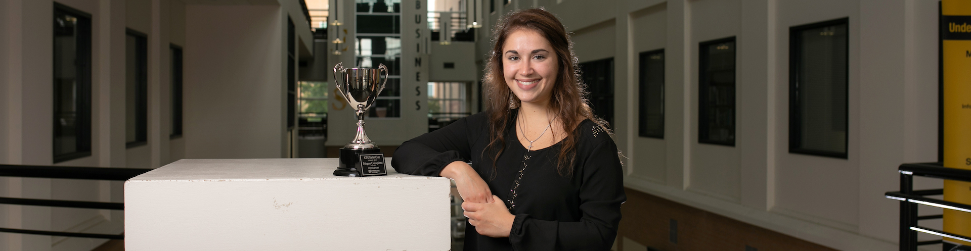 Megan Colapinto captained the KSU Sales Team, winning the KSU Sales Cup competition four consecutive times