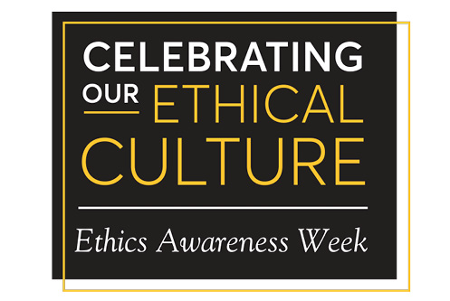 Ethics Awareness Week logo