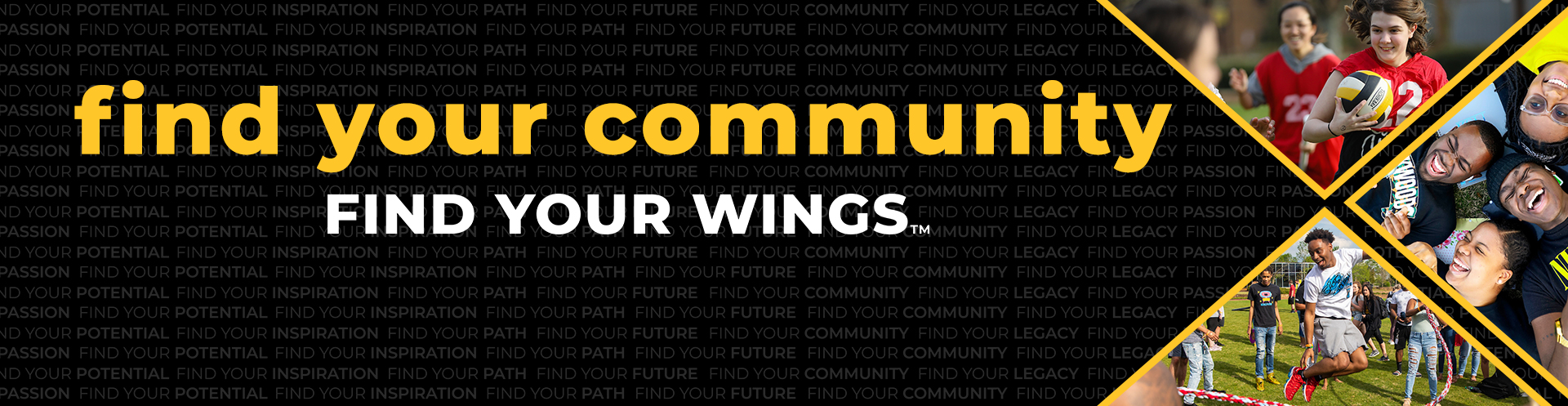Find your Community. Find your Wings.