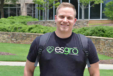 Caleb Gilbert, founder of Esgro